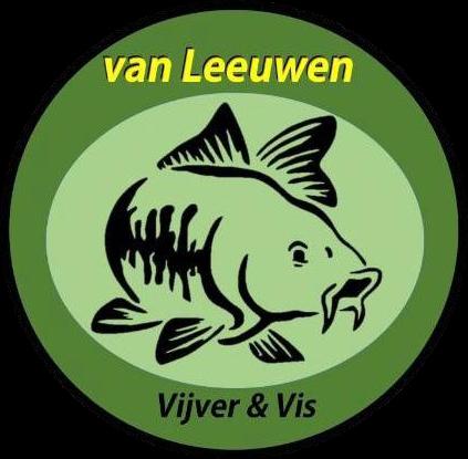Van Leeuwen Vijver & Vis Logo transparant